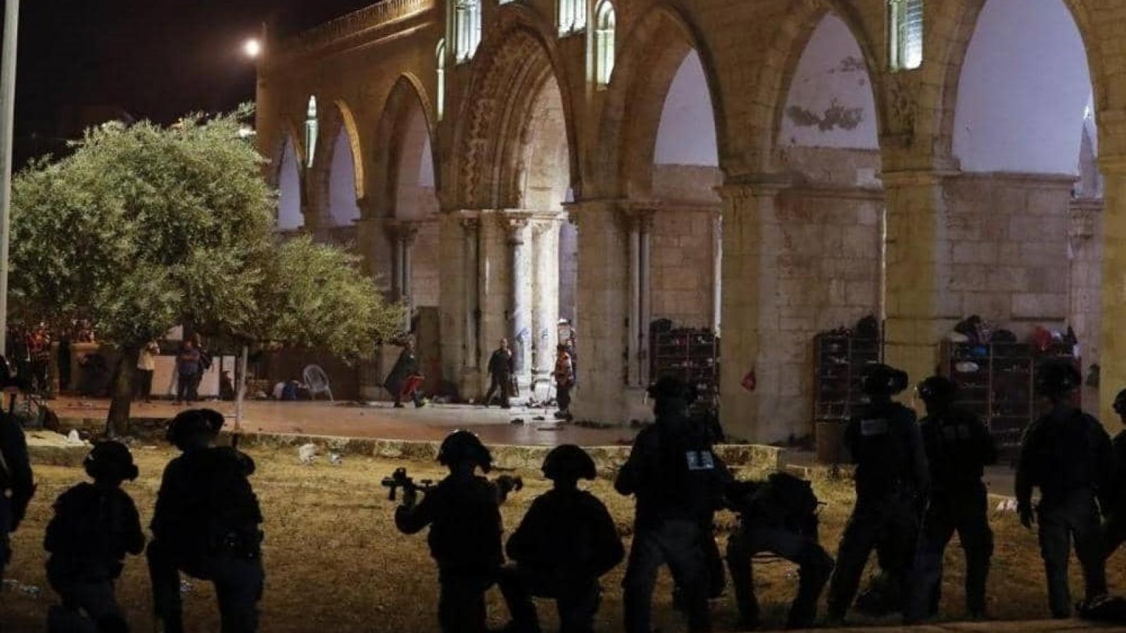 Một số quốc gia Arab lên án vụ Israel tấn công các tín đồ Palestine