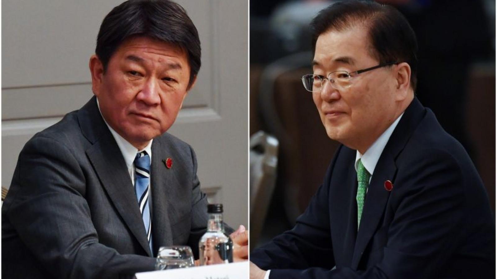 Bất đồng giữa Nhật Bản và Hàn Quốc chưa được xoa dịu bên lề G7