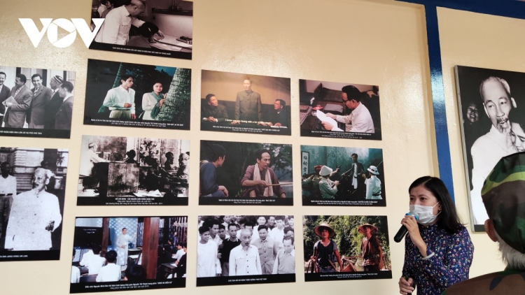 Photo exhibition on President HCM in cinematography opens to public