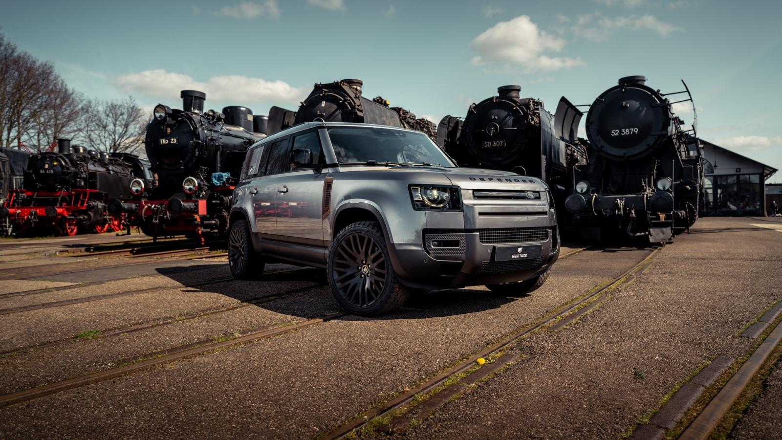 Land Rover Defender mới có thêm gói độ cực độc
