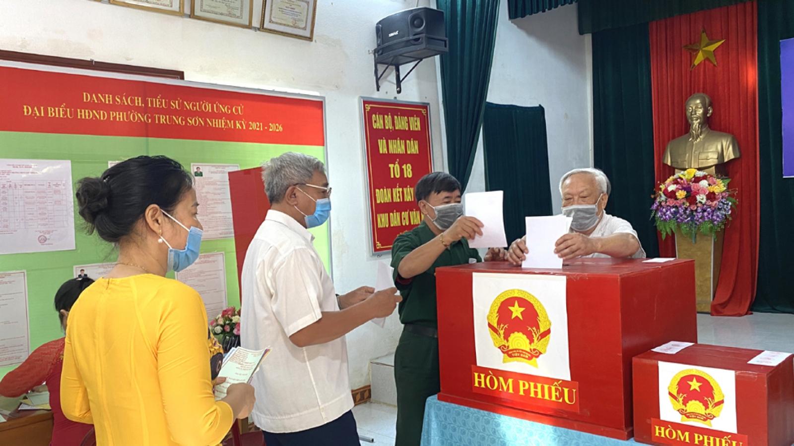 Ninh Bình bầu đủ 50 đại biểu HĐND tỉnh, nhiệm kỳ 2021-2026