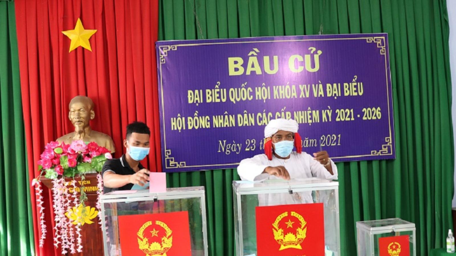 50 đại biểu trúng cử Hội đồng nhân dân tỉnh Ninh Thuận