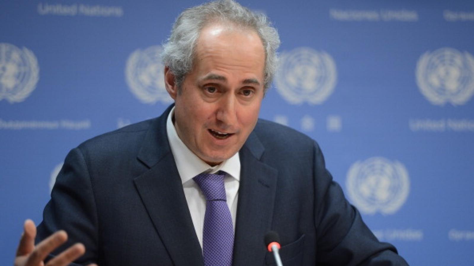 Liên Hợp Quốc kêu gọi tạo điều kiện tiếp cận hỗ trợ nhân đạo ở Gaza