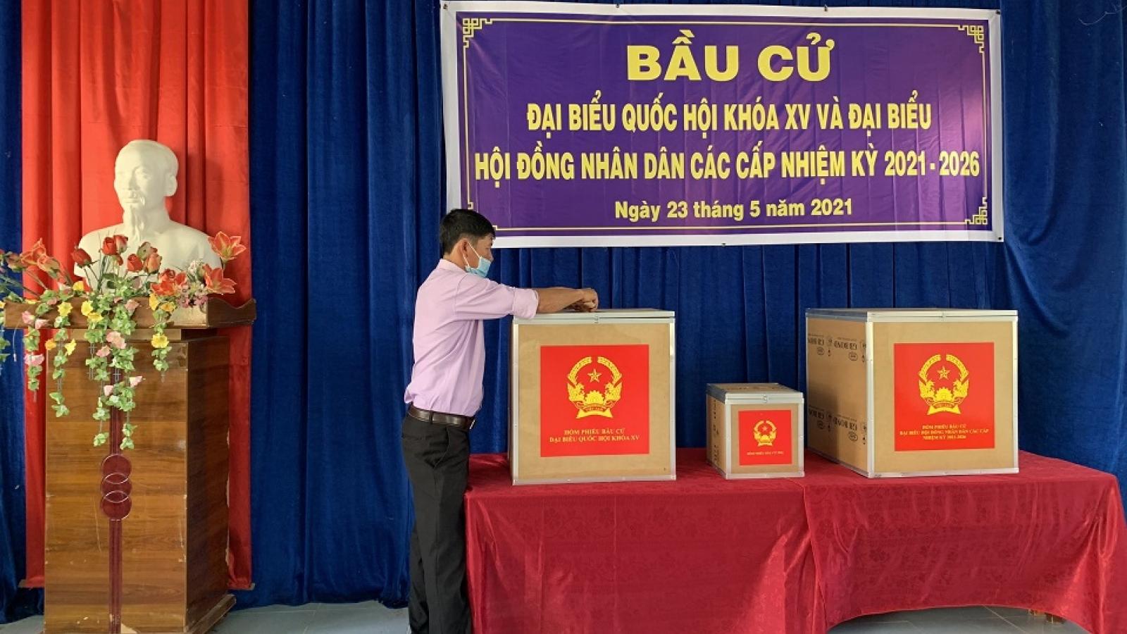 Các địa phương hoàn tất công tác chuẩn bị cho Ngày bầu cử
