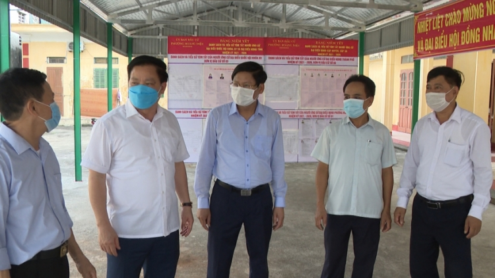 Thái Bình vừa lo chống dịch Covid-19, vừa chuẩn bị bầu cử an toàn