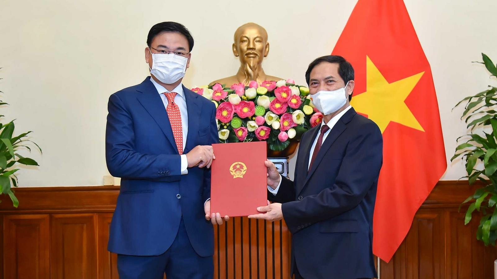 Ông Phạm Quang Hiệu giữ chức Thứ trưởng Bộ Ngoại giao