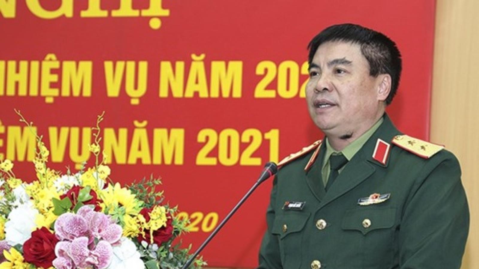 Trung tướng Phạm Đức Duyên làm Chính ủy Quân khu 2, Bộ Quốc phòng