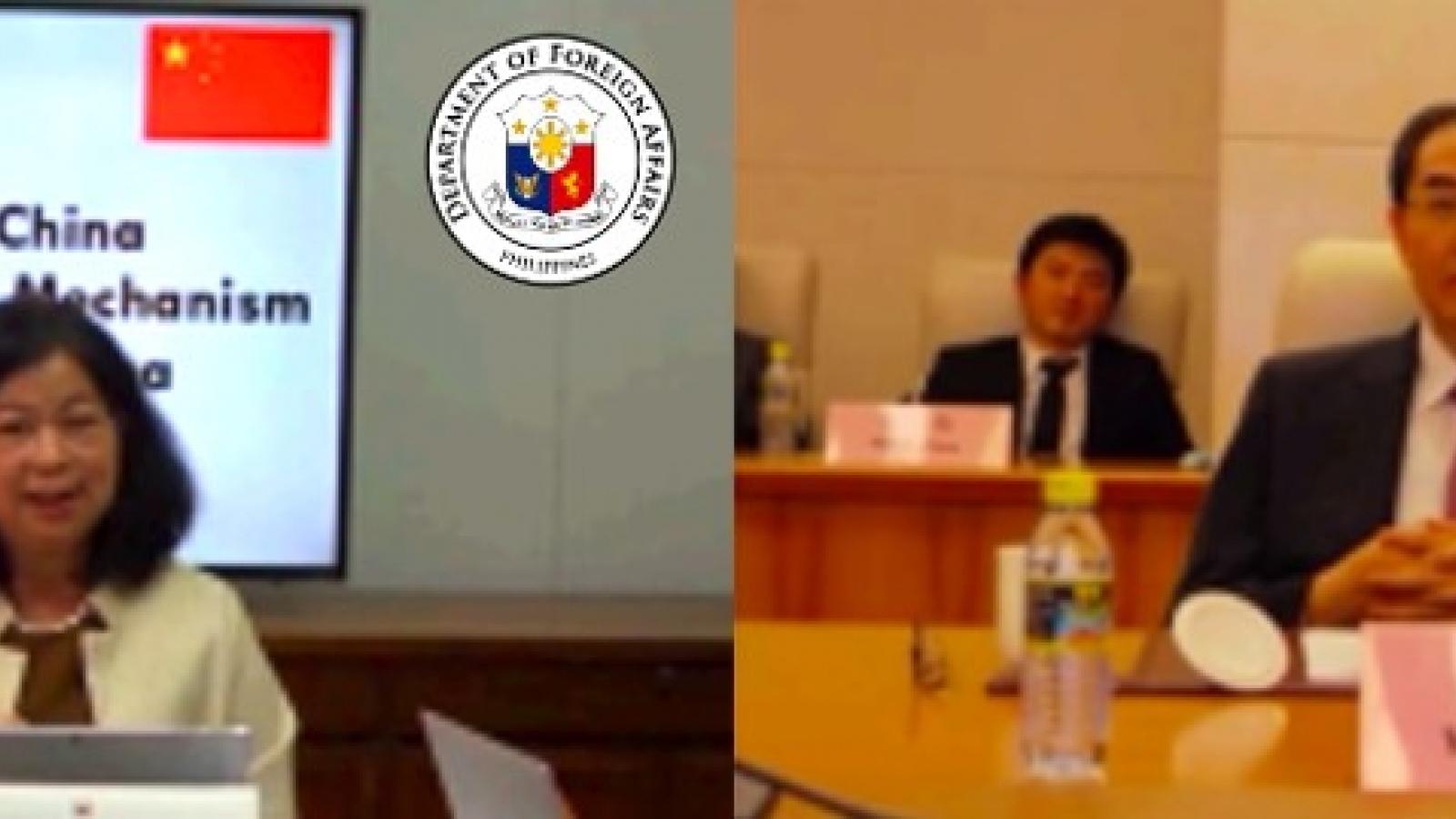 Trung Quốc và Philippines tham vấn song phương về vấn đề Biển Đông