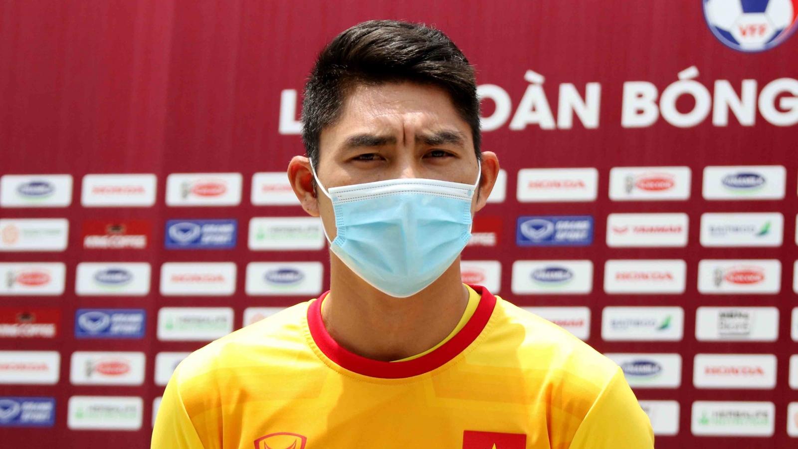 Thủ môn Sài Gòn FC quyết tâm cạnh tranh vị trí với Văn Lâm ở ĐT Việt Nam