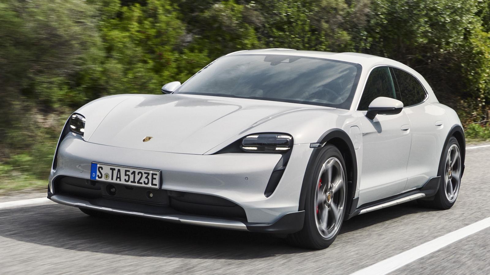 Porsche Taycan GTS và Sport Turismo sẽ sớm được ra mắt