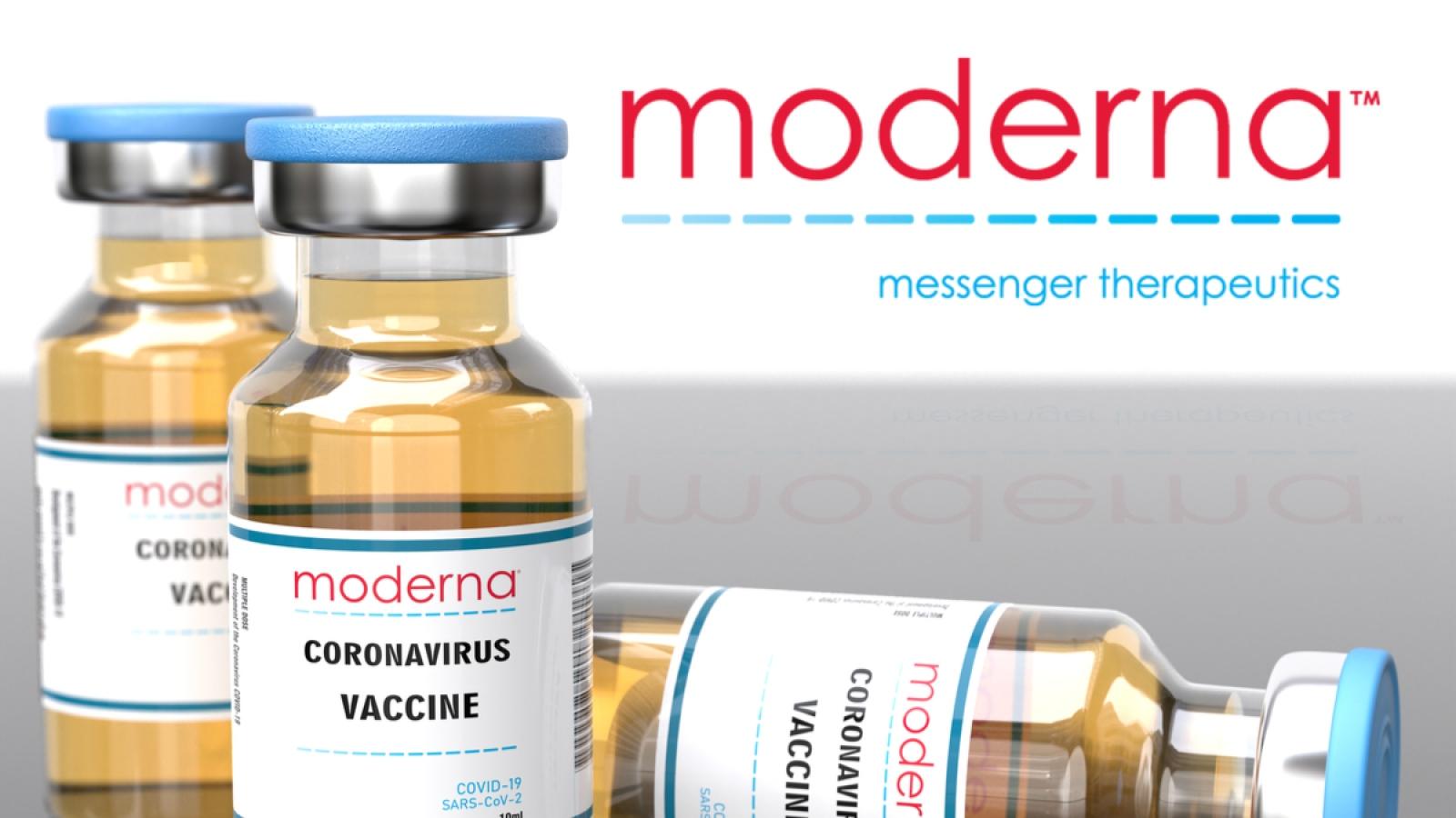 Moderna sẽ phân phối nửa tỷ liều vaccine COVID-19 từ cuối năm 2021