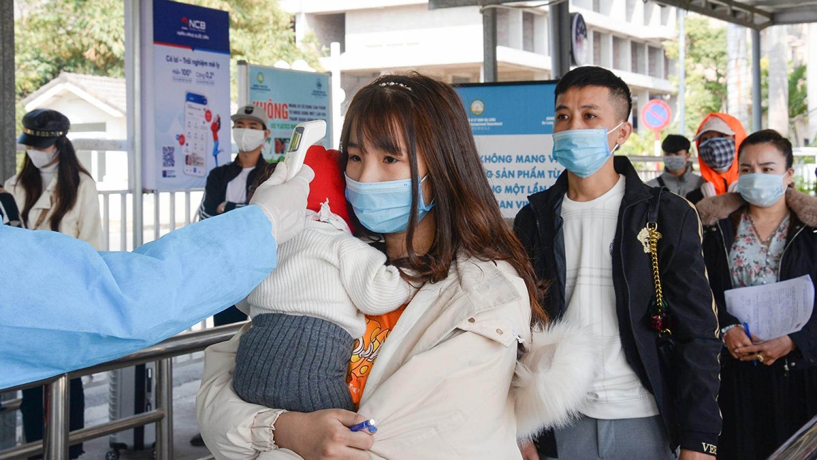 Tạm ngừng hoạt động tuyến xe khách Quảng Ninh đi Vĩnh Phúc, Lý Nhân (Hà Nam)