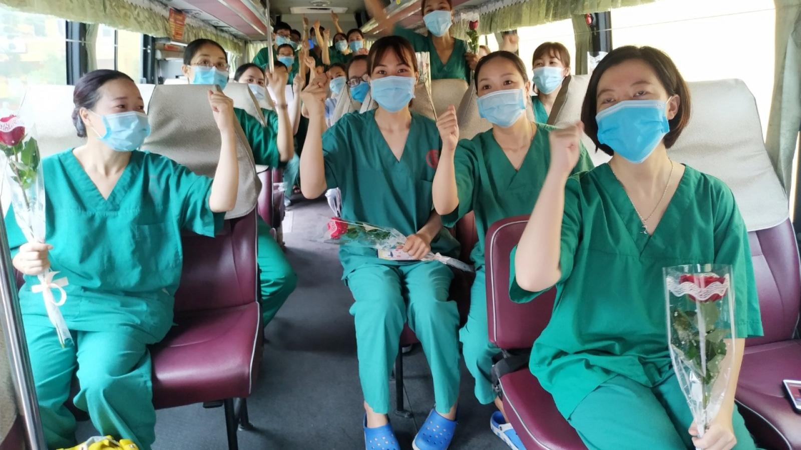 Quảng Ninh chi viện Bắc Giang chống dịch