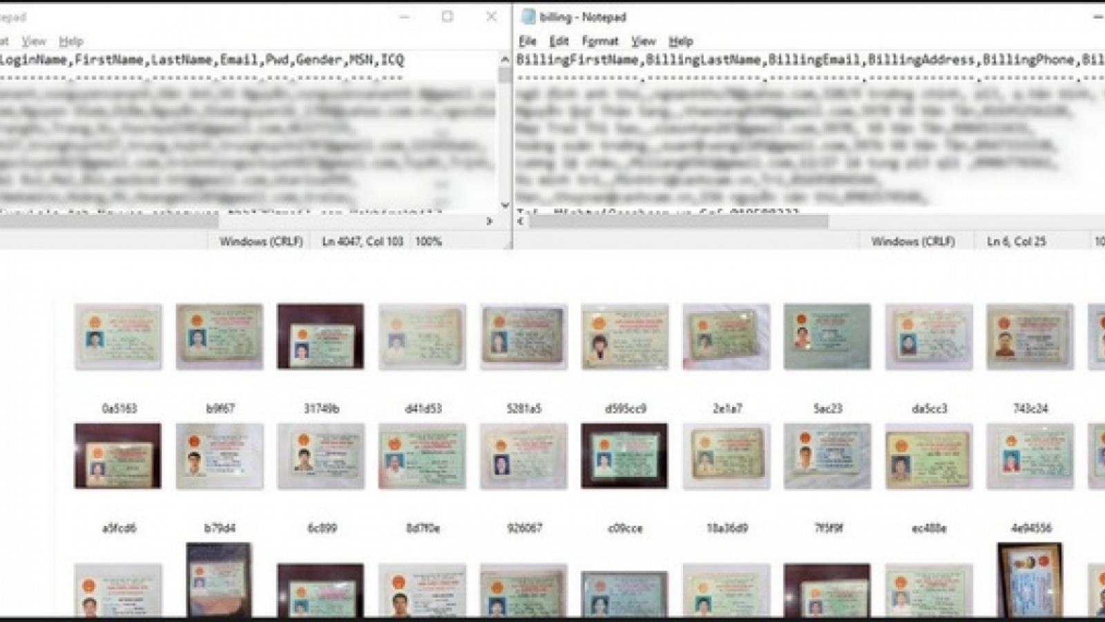 Nóng 24h: Bộ Công an nói gì về vụ hàng ngàn chứng minh thư bị rao bán trên mạng