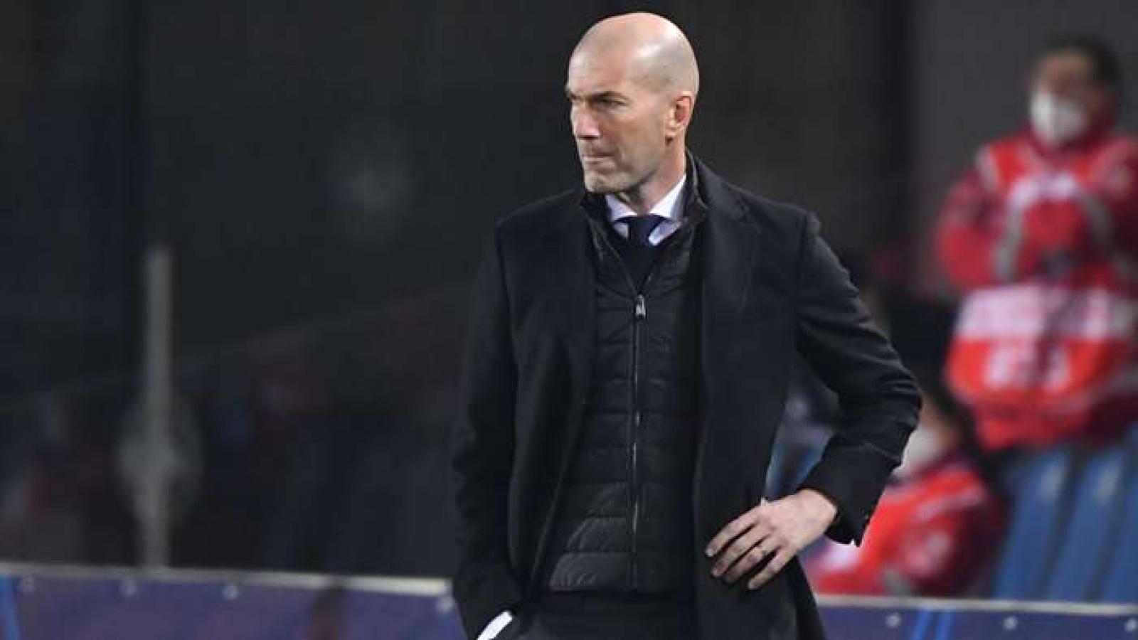 HLV Zidane cân nhắc chia tay Real Madrid