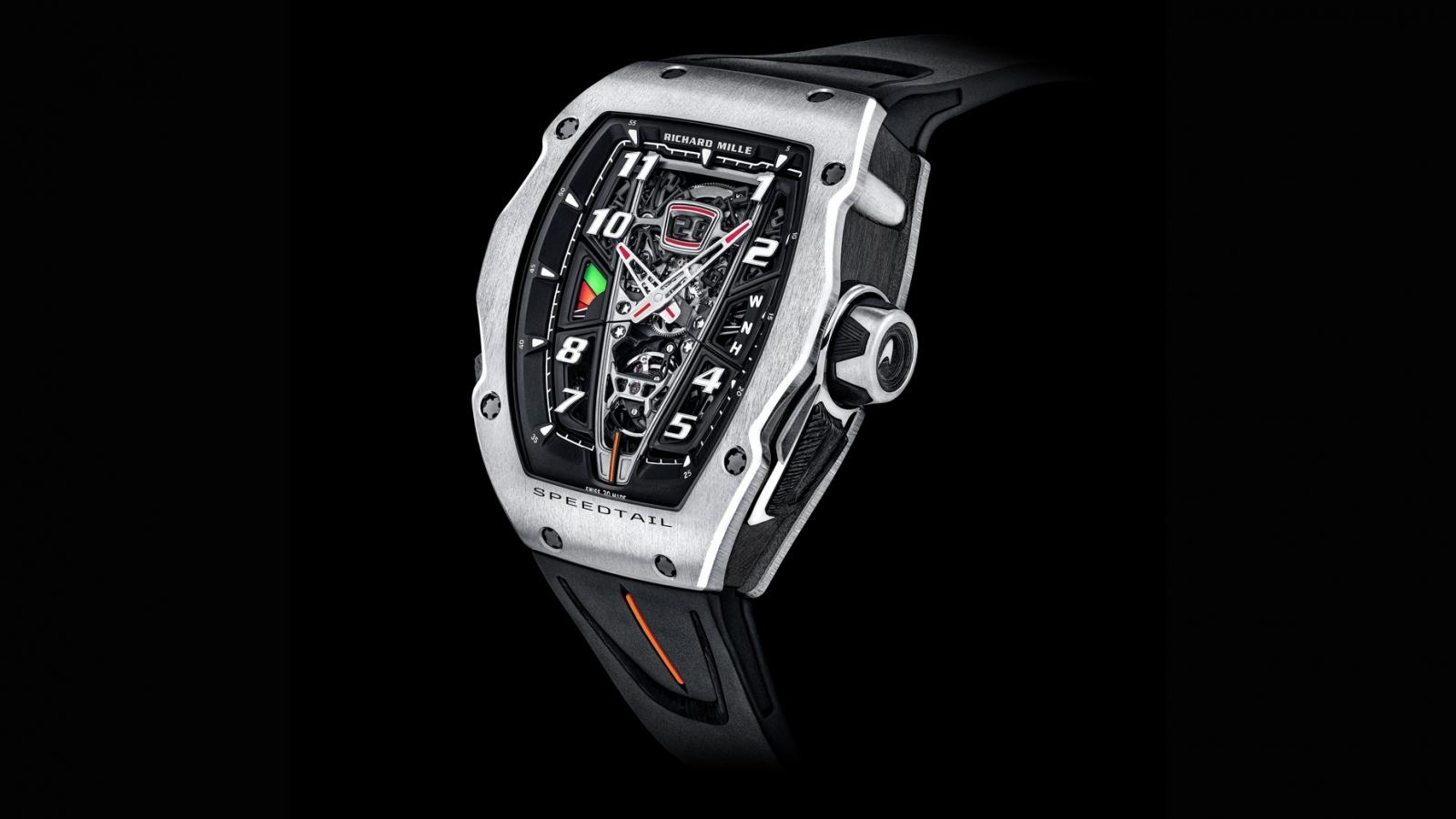 Richard Mille ra mắt chiếc siêu đồng hồ hợp tác với McLaren hơn 23 tỷ đồng