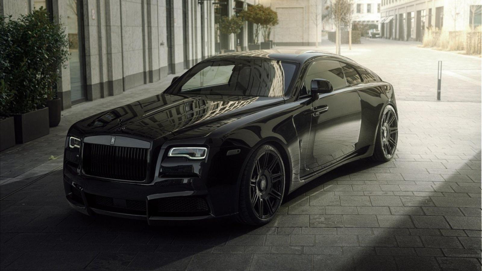 Ngắm Rolls-Royce Wraith Black Badge với gói nâng cấp Spofec Overdose