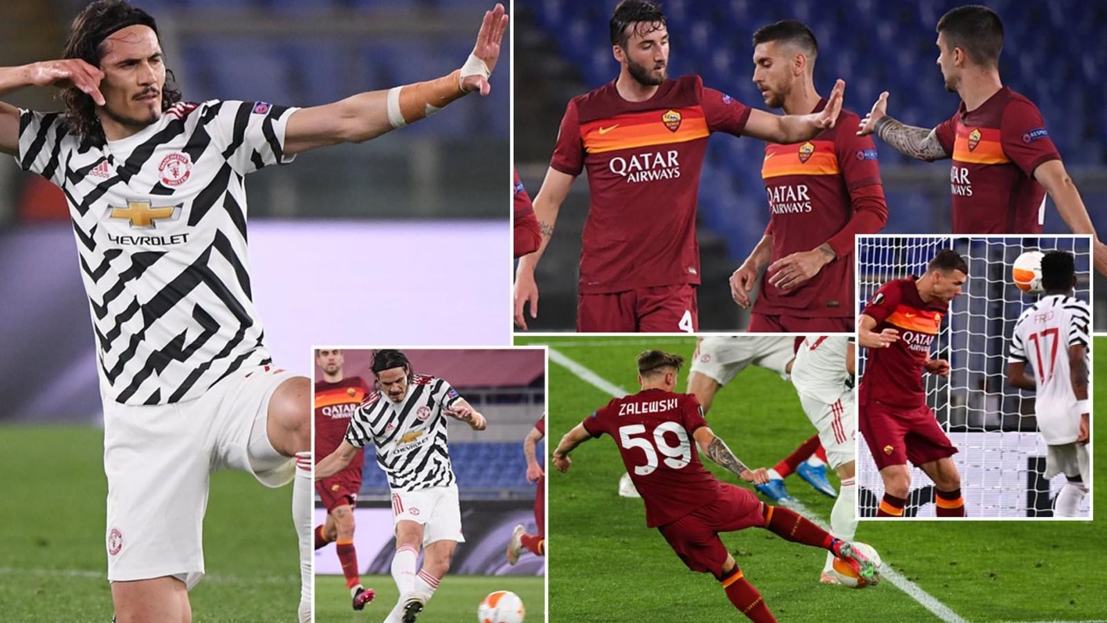 Toàn cảnh AS Roma 3-2 MU: Cavani, De Gea chứng tỏ đẳng cấp