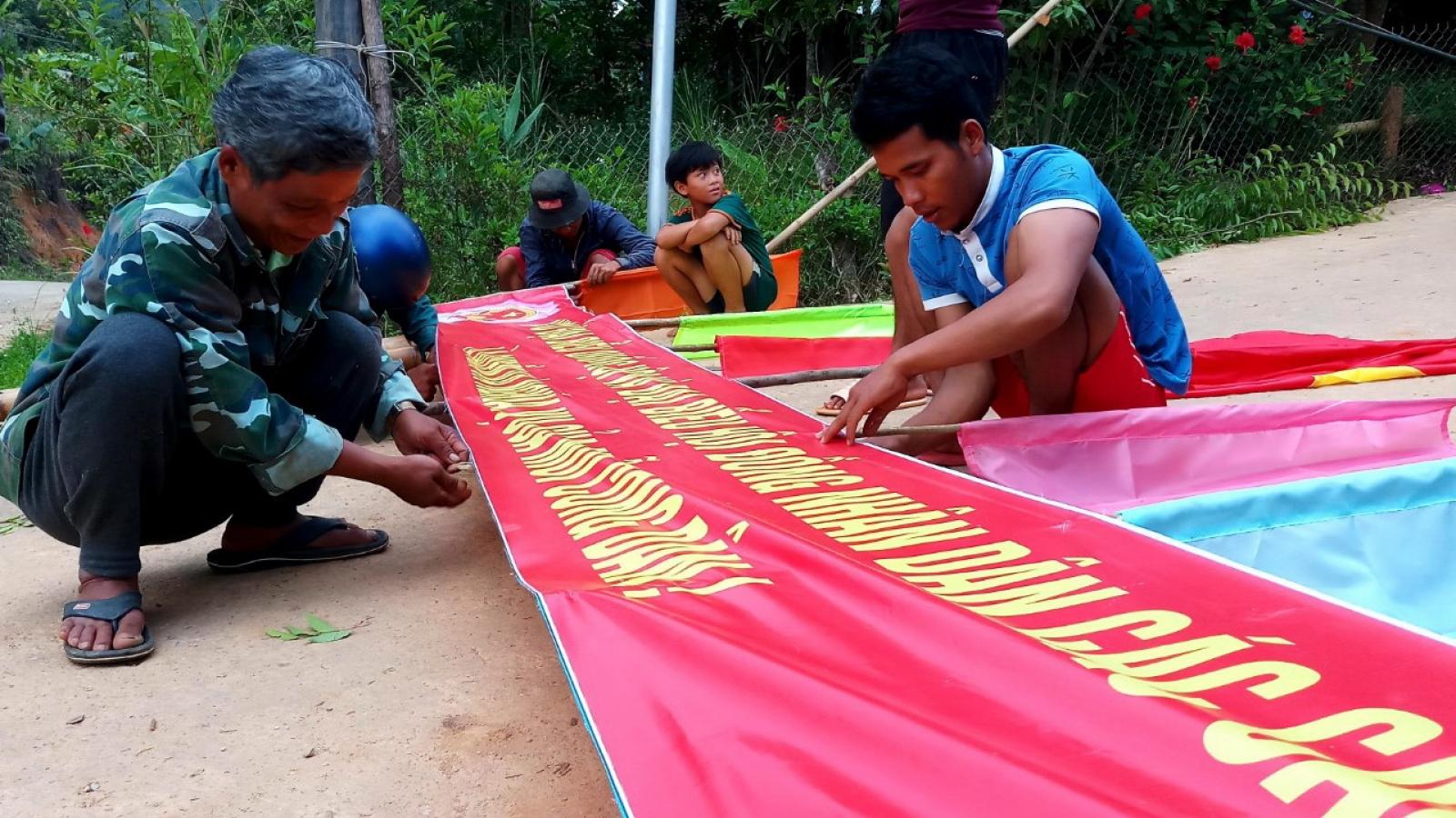 6 xã bầu cử vào ngày mai 16/5, Quảng Nam phát huy vai trò già làng trong vận động cử tri