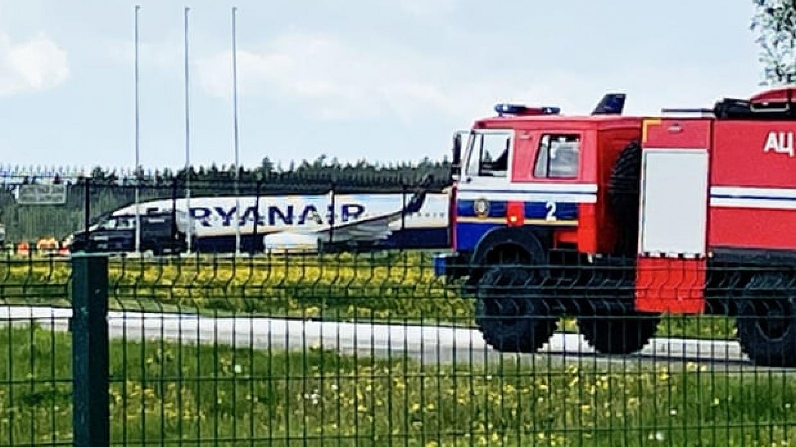 EU tuyên bố Belarus khó thoát trừng phạt vì vụ ép máy bay hạ cánh
