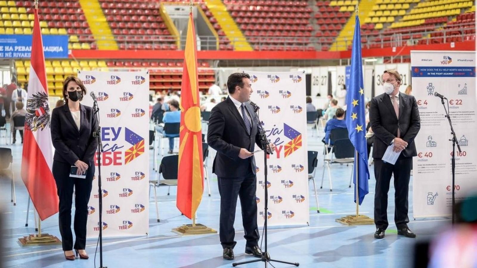 Liên minh châu Âu hỗ trợ vaccine ngừa Covid-19 cho các quốc gia Balkan
