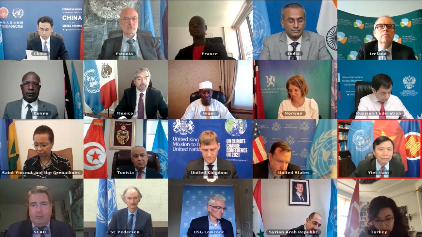 Hội đồng Bảo an Liên Hợp Quốc họp định kỳ về tình hình Syria
