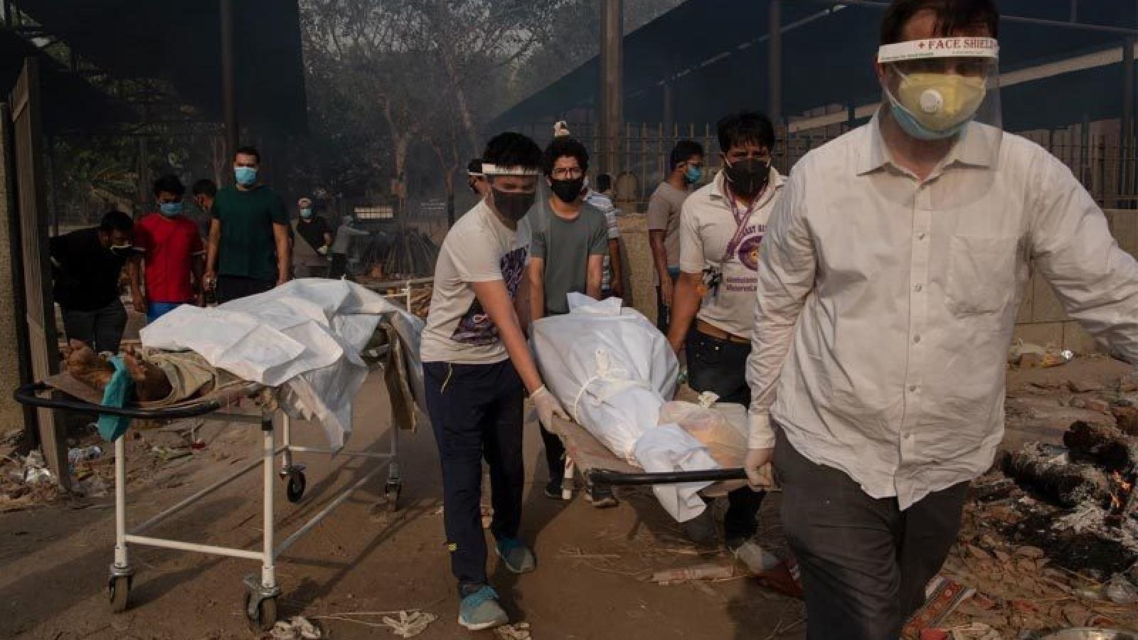 Số người tử vong vì Covid-19 ở Ấn Độ vượt ngưỡng 300.000