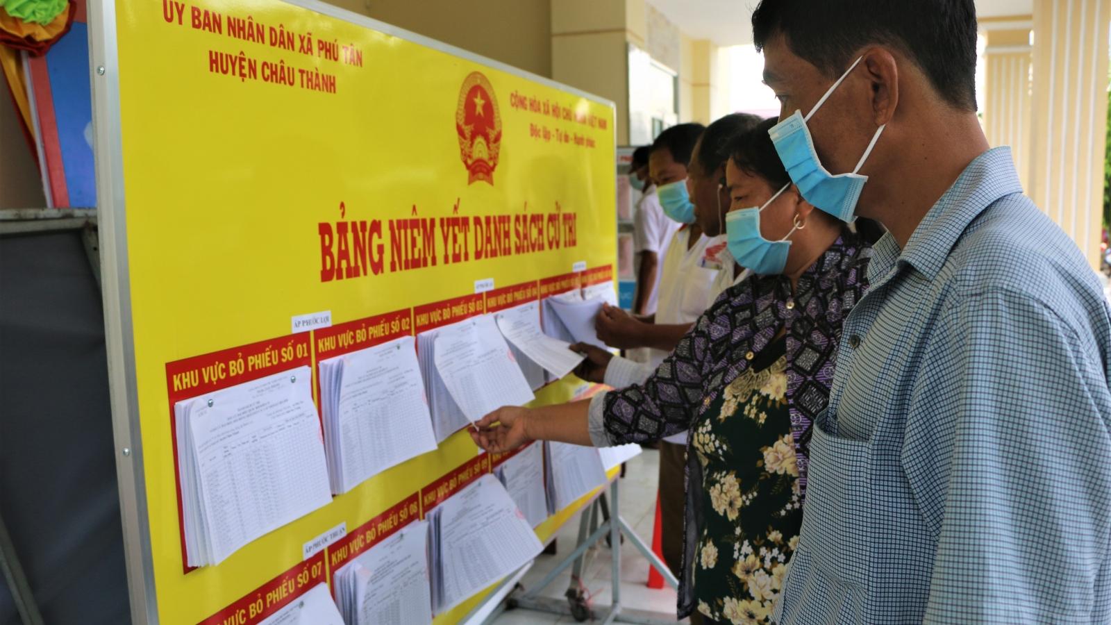 Sóc Trăng tuyên truyền bầu cử bầu cử bằng tiếng phổ thông và tiếng Khmer