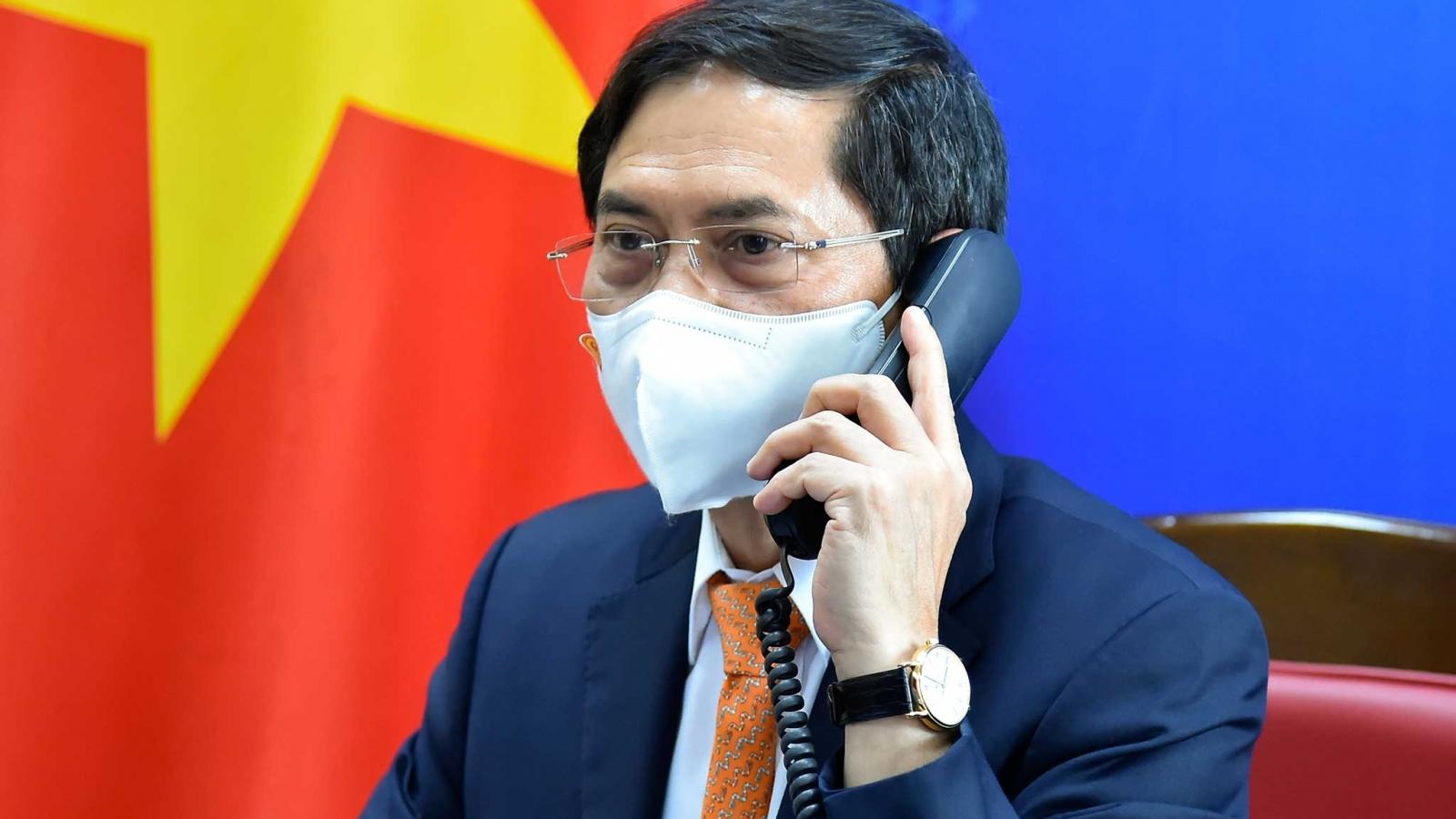 Điện đàm cấp Bộ trưởng ngoại giao Việt Nam – Thái Lan