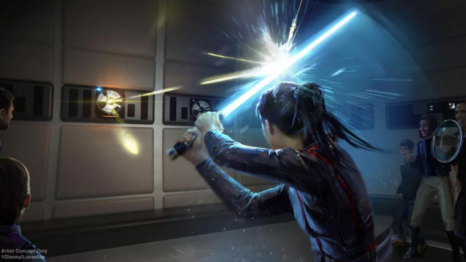 Kiếm Lightsaber trong Star Wars sẽ xuất hiện ngoài đời thực