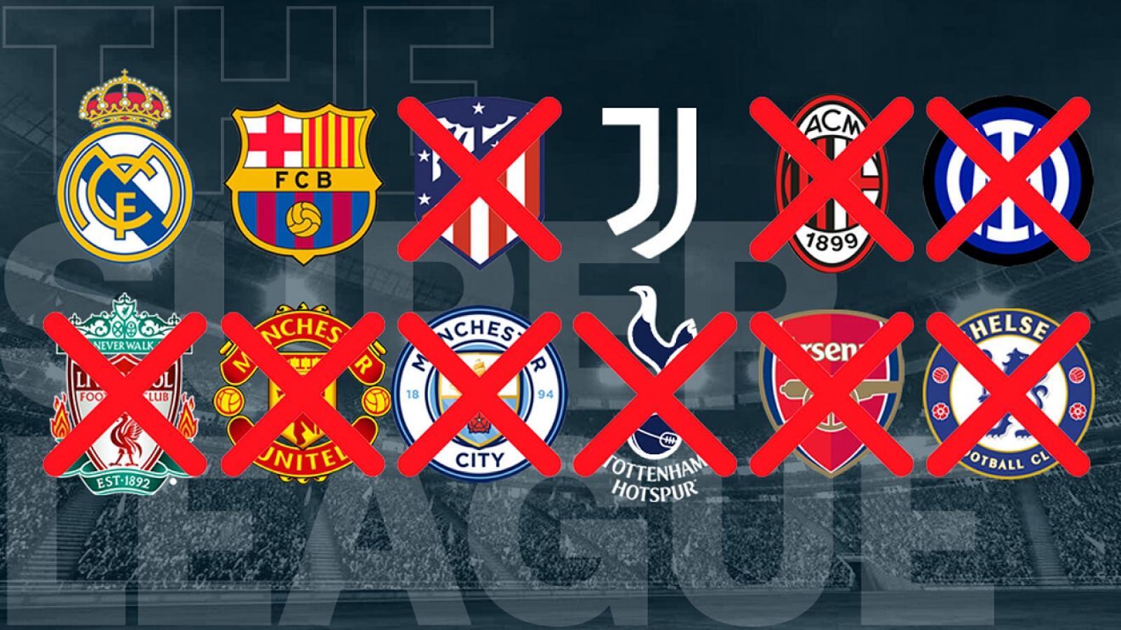 Real Madrid, Barca và Juventus đối mặt án phạt cực nặng từ UEFA