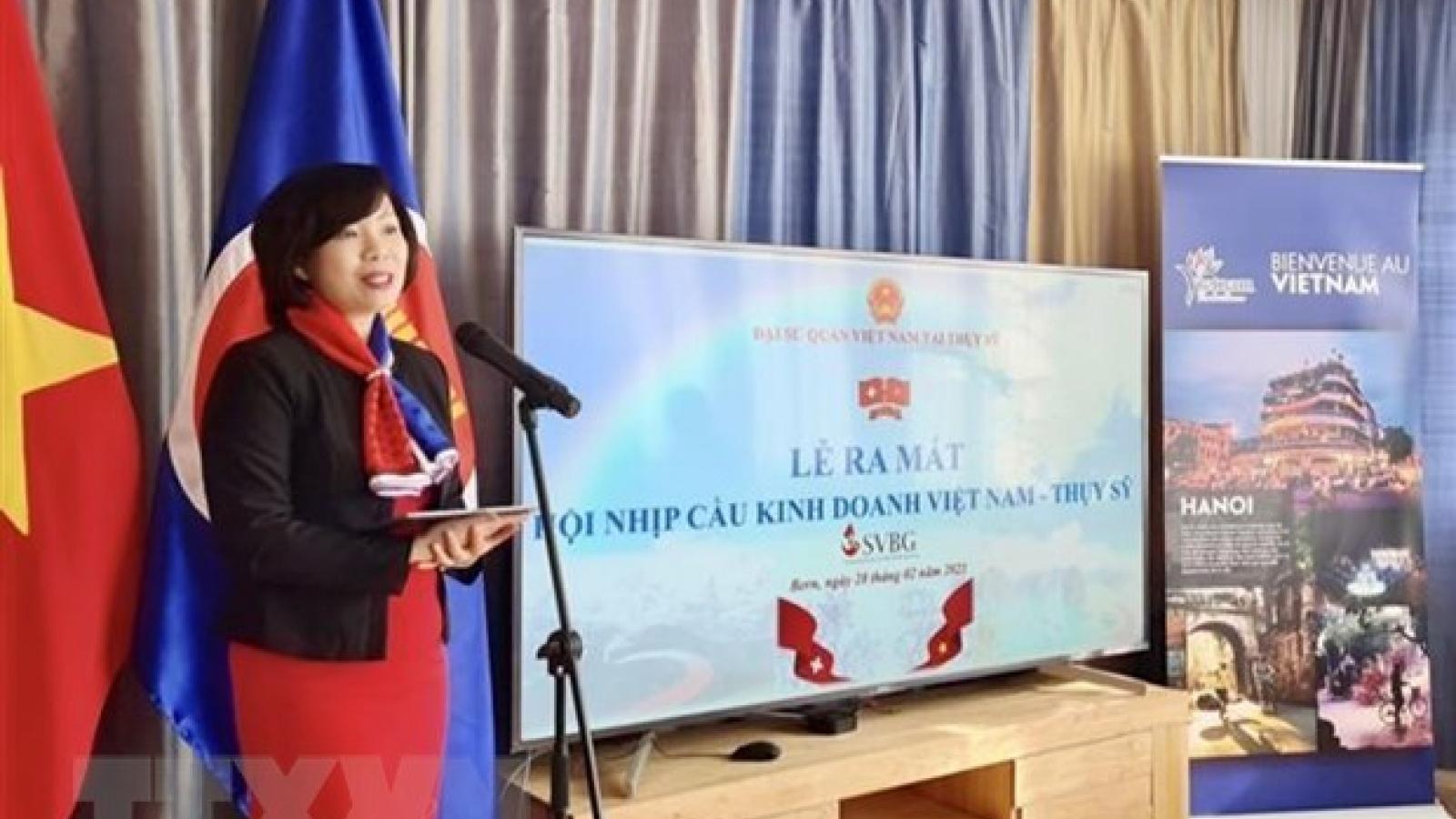 Swiss-Vietnamese Business Gateway to establish representative board