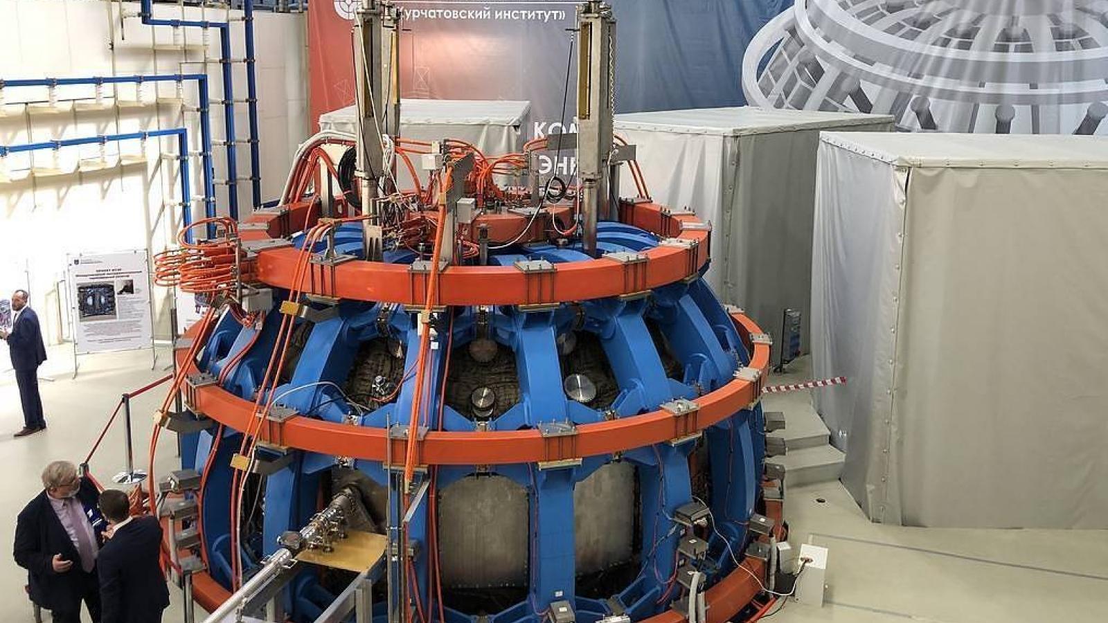 """Nga phát triển lò phản ứng tổng hợp hạt nhân T-15MD """"không nước nào sánh bằng"""""""