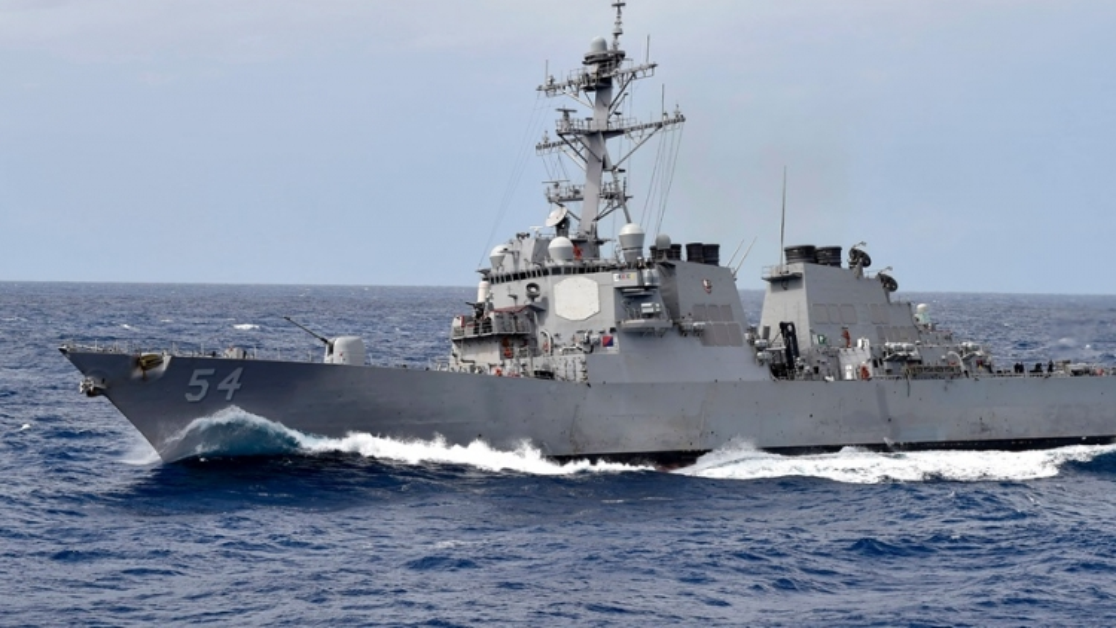 Tàu chiến Mỹ qua eo biển Đài Loan, Trung Quốc tuyên bố sẵn sàng đối phó mọi đe dọa