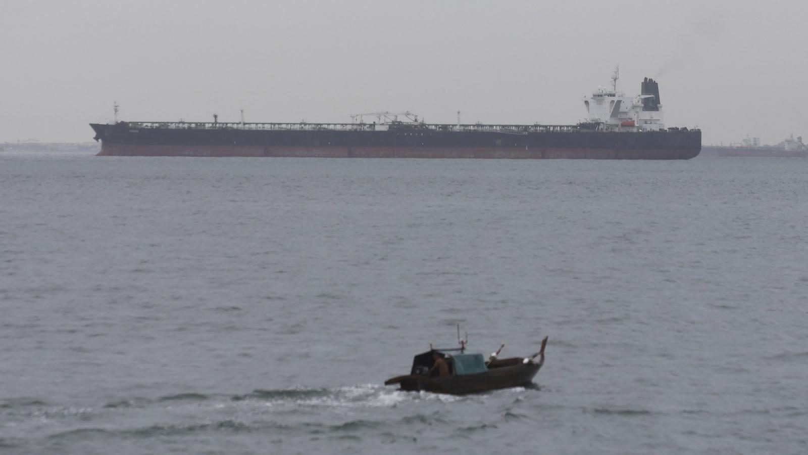 Indonesia thả tàu chở dầu Iran