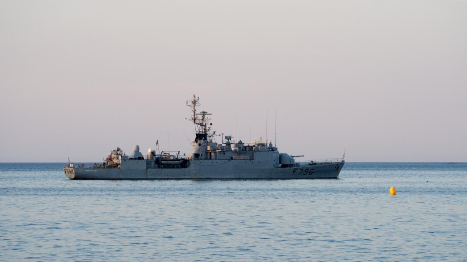 Tàu Pháp vào Biển Đen, Hải quân Nga theo dõi chặt chẽ