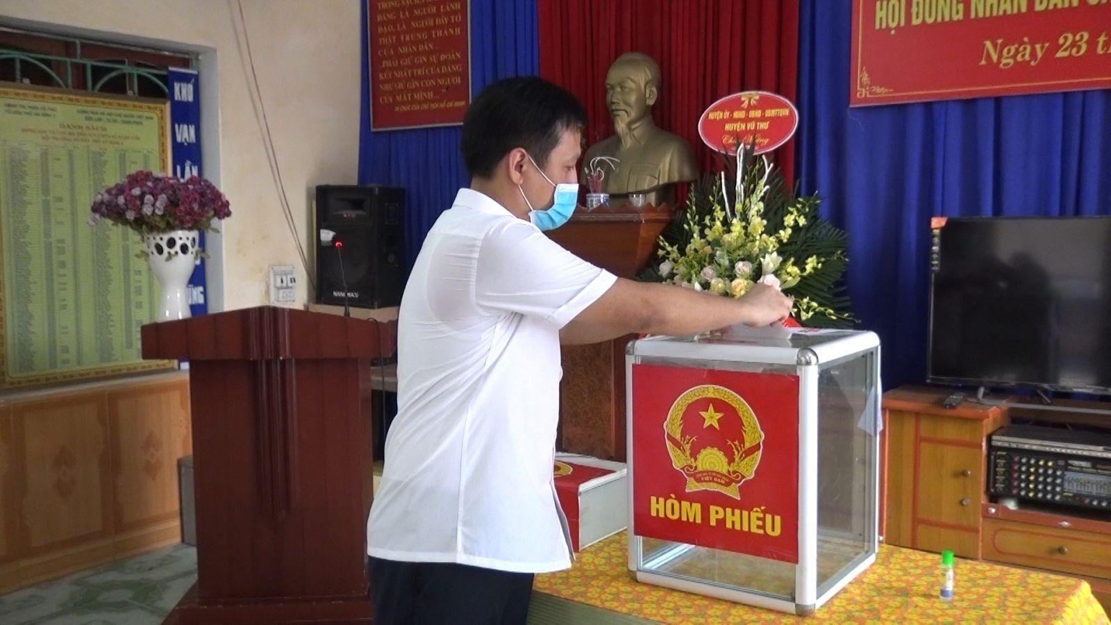 Thái Bìnhsẽ tổ chức bầu cử thêm 5 đại biểu HĐND cấp xã