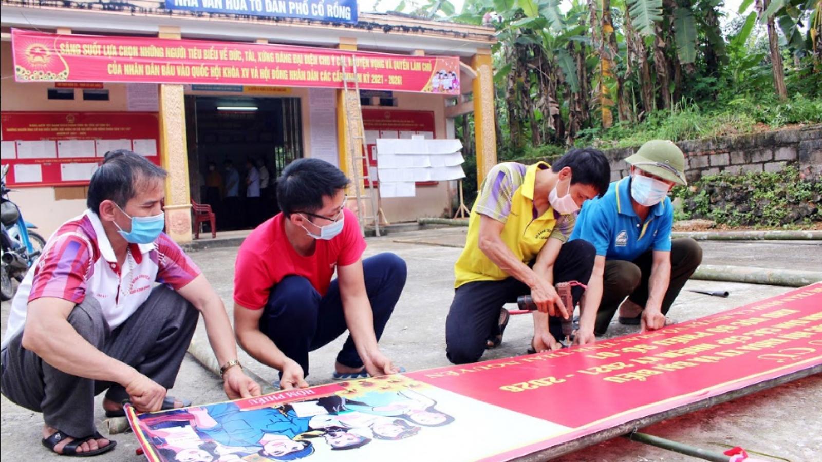 Thái Nguyên đã sẵn sàng cho cuộc bầu cử an toàn, đạt kết quả cao nhất