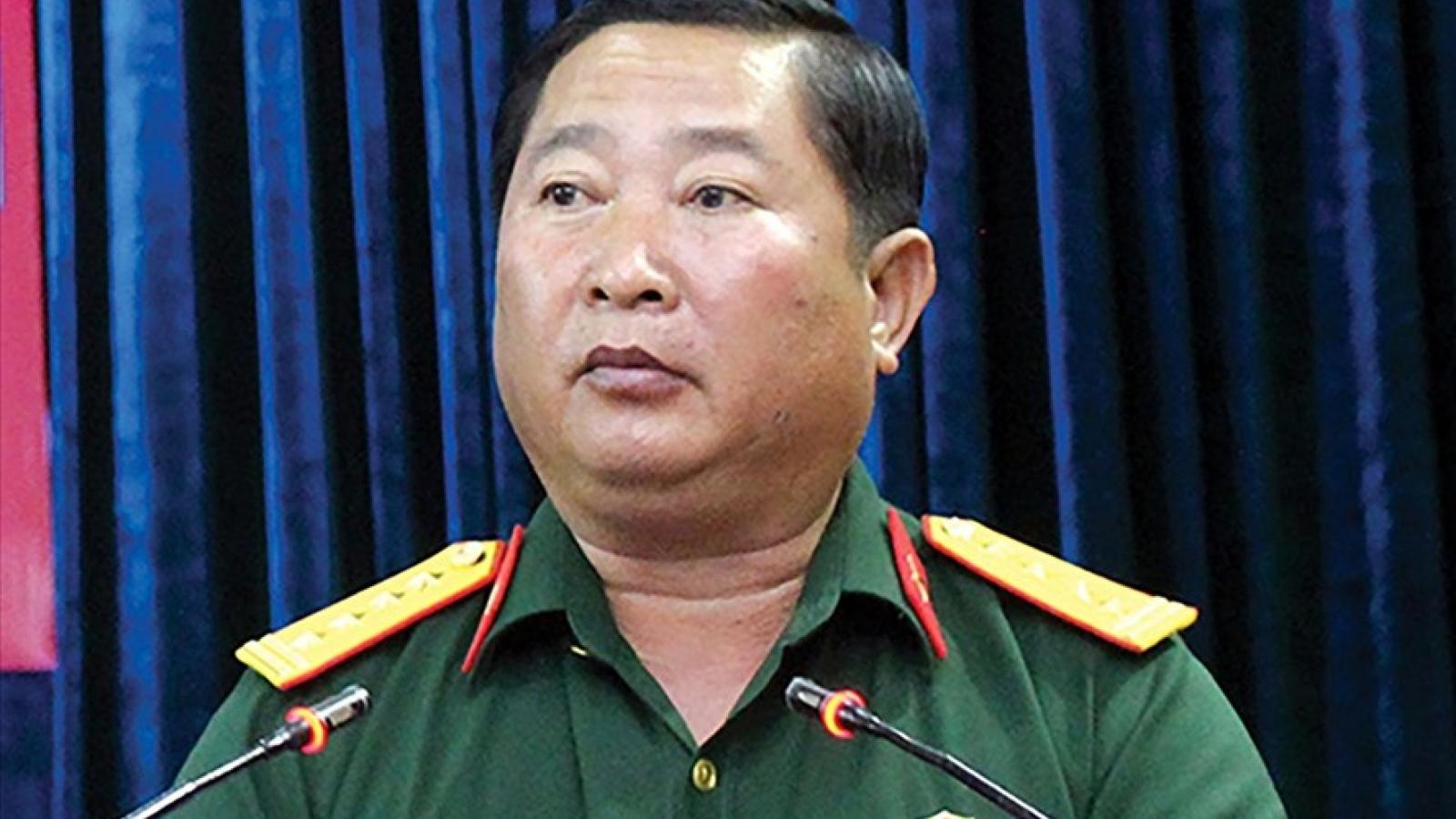Cách tất cả chức vụ trong Đảng đối với Thiếu tướng Trần Văn Tài