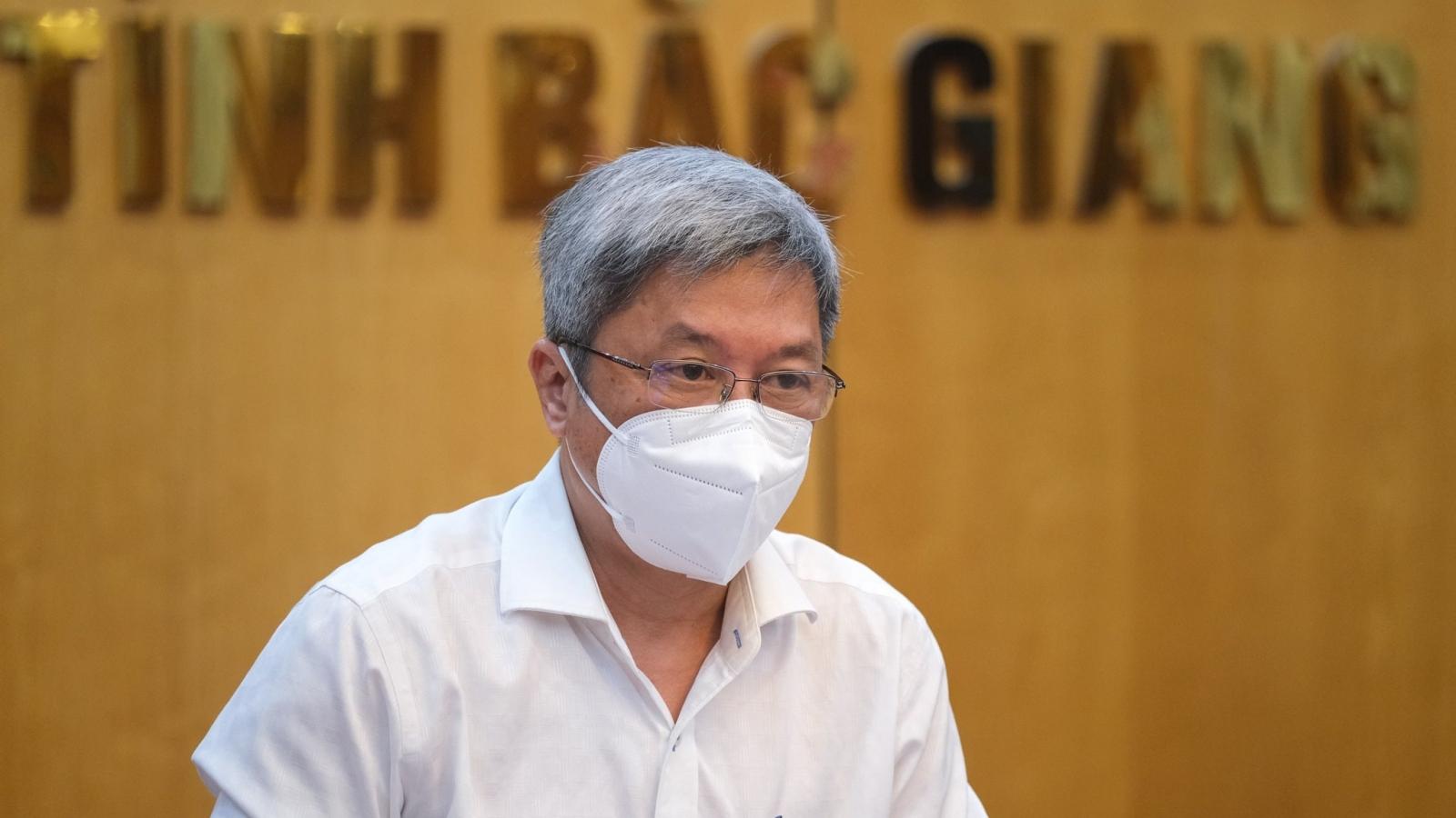 Thứ trưởng Bộ Y tế: Bắc Giang khẩn trương khoanh vùng, cách ly để dịch không lan rộng