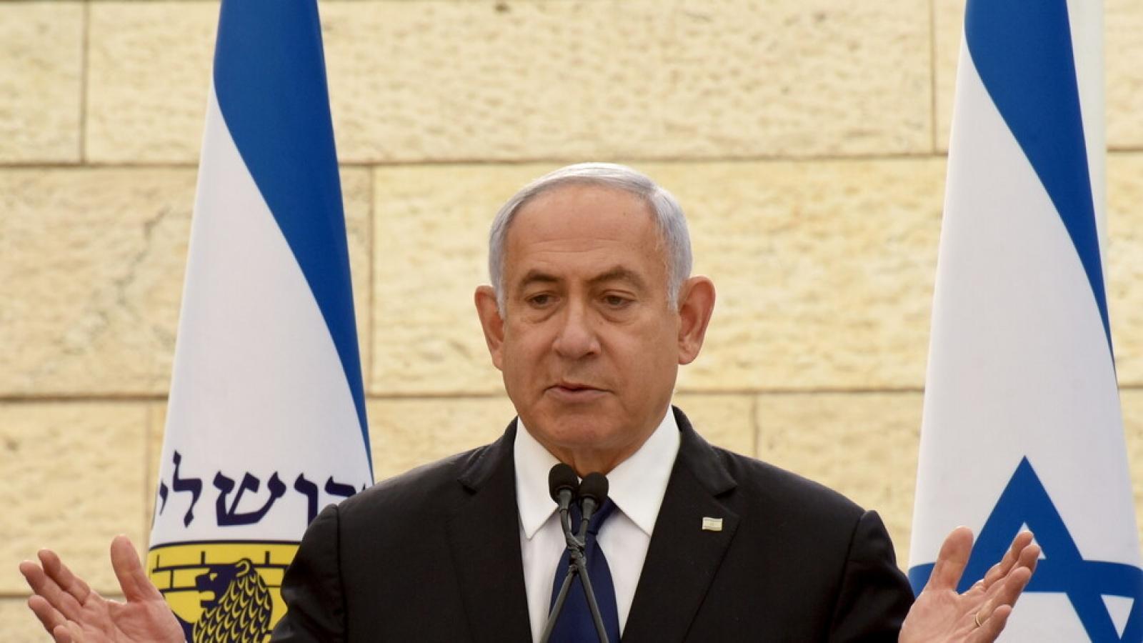 Thủ tướng Israel Netanyahu bế tắc trong thành lập chính phủ mới