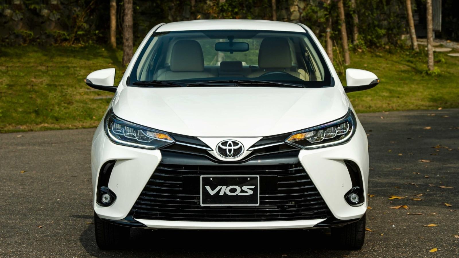 Mua Toyota Vios trong tháng 5 được tặng ngay gói bảo hiểm 1 năm