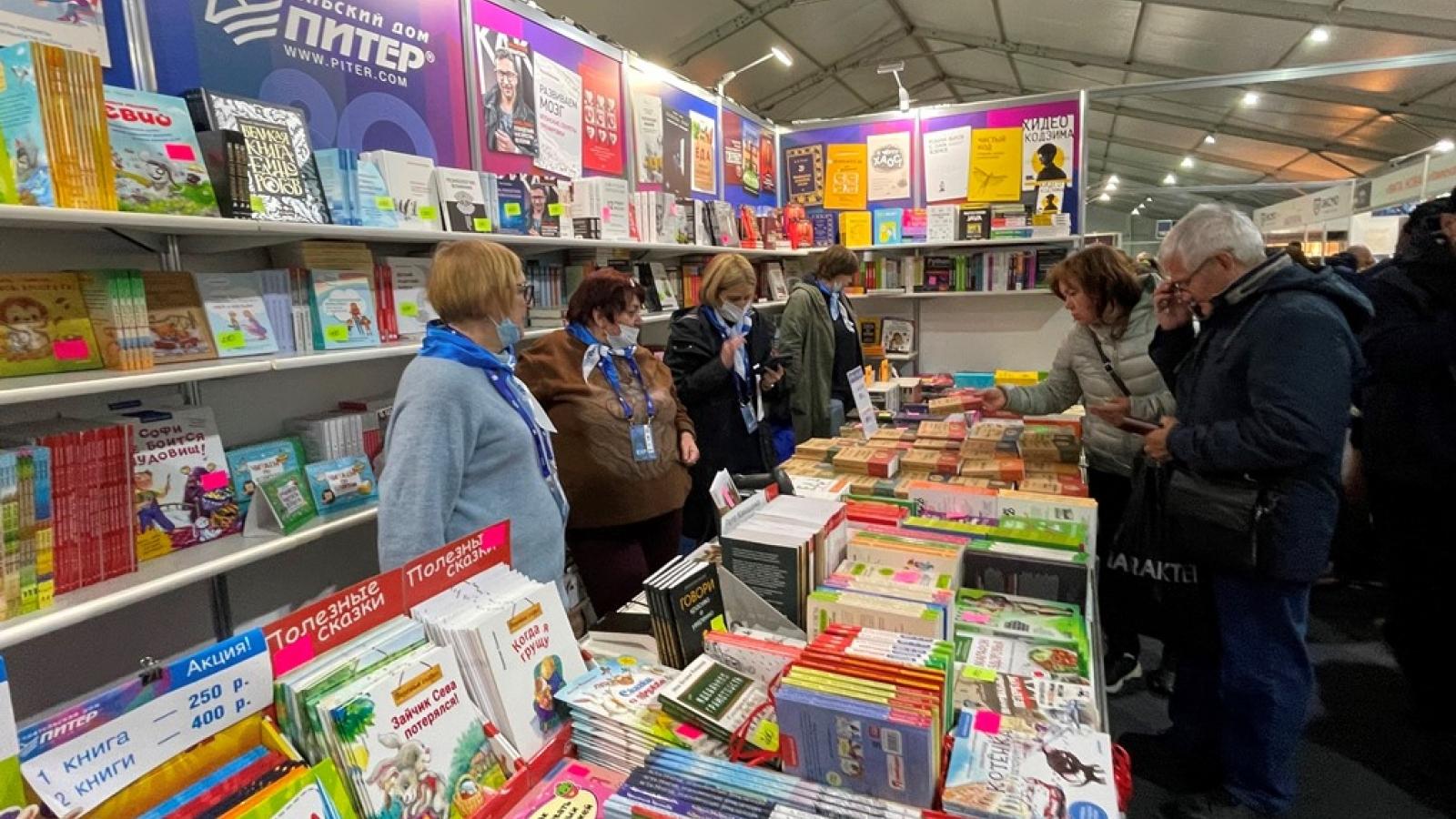 Việt Nam tham gia Triển lãm sách quốc tế Saint Petersburg-Nga lần thứ XVI