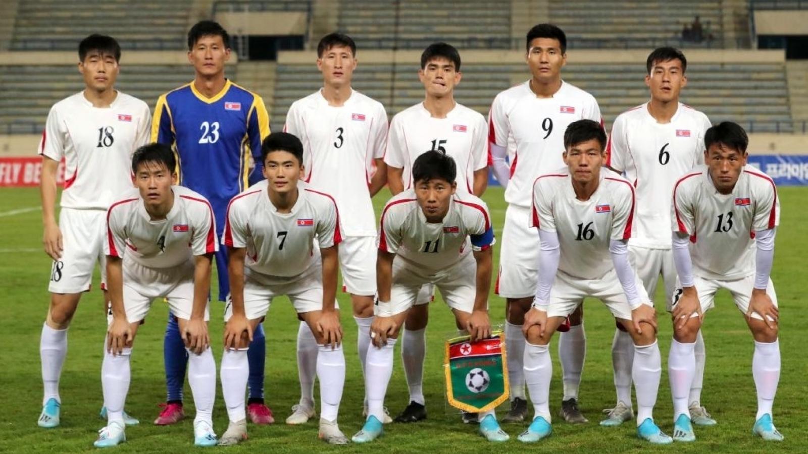 ĐT Triều Tiên rút khỏi vòng loại World Cup 2022