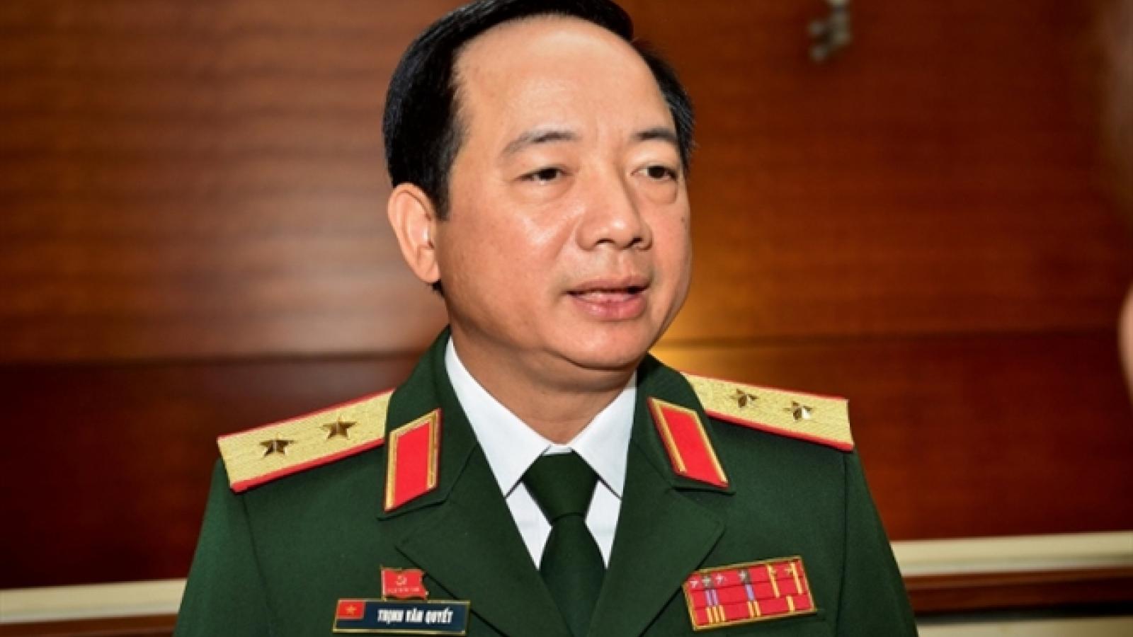 Trung tướng Trịnh Văn Quyết giữ chức Phó Chủ nhiệm Tổng cục Chính trị