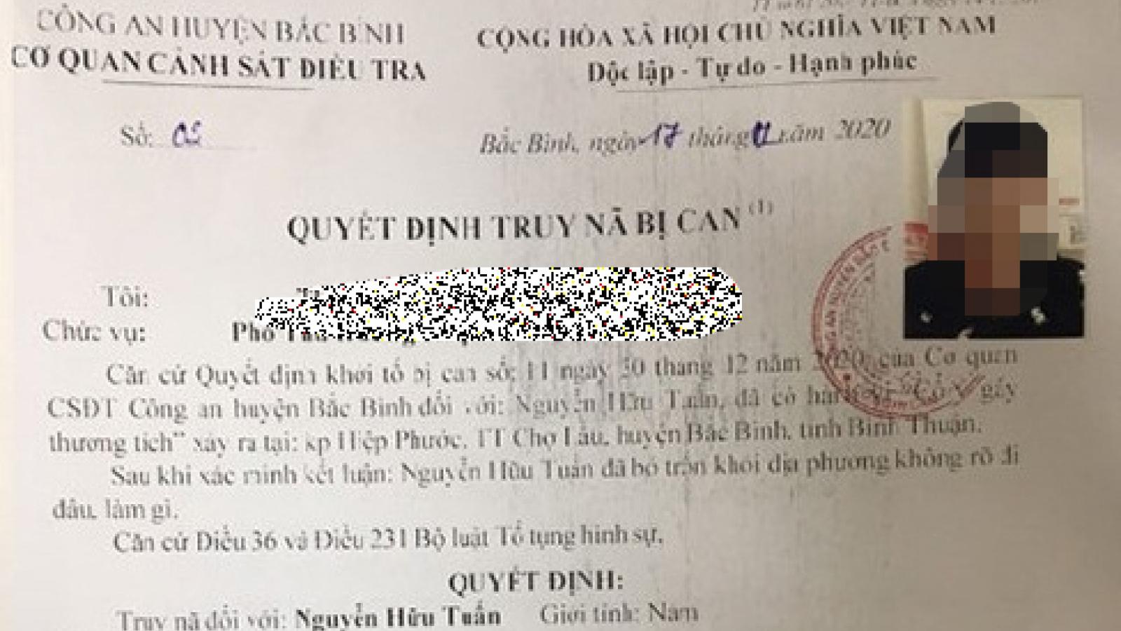 """Quảng Ninh bắt giữ đối tượng truy nã """"đặc biệt nguy hiểm"""""""