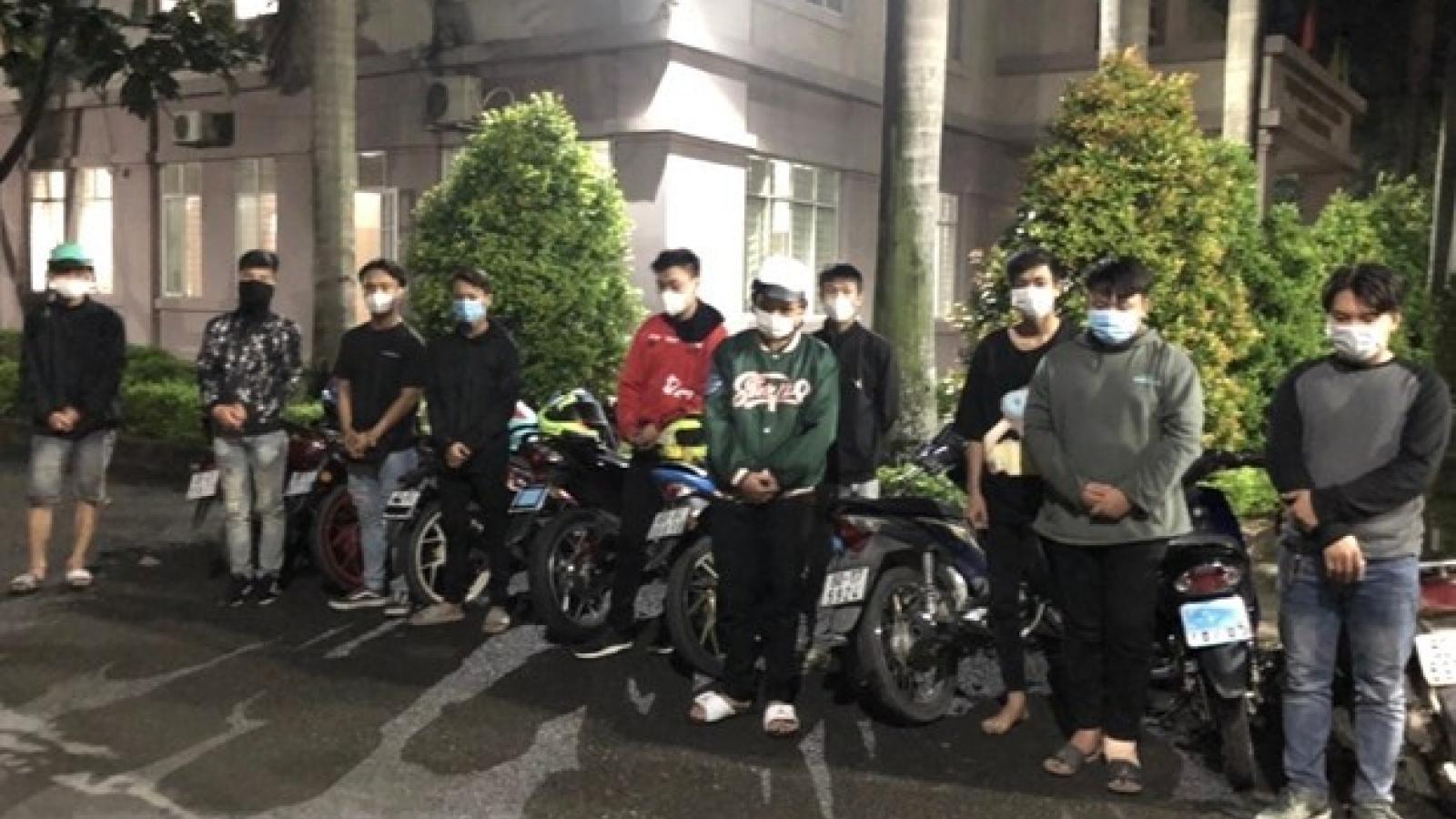 Kịp thời ngăn chặn nhóm đua xe trái phép trong ngày bầu cử ở Đồng Nai