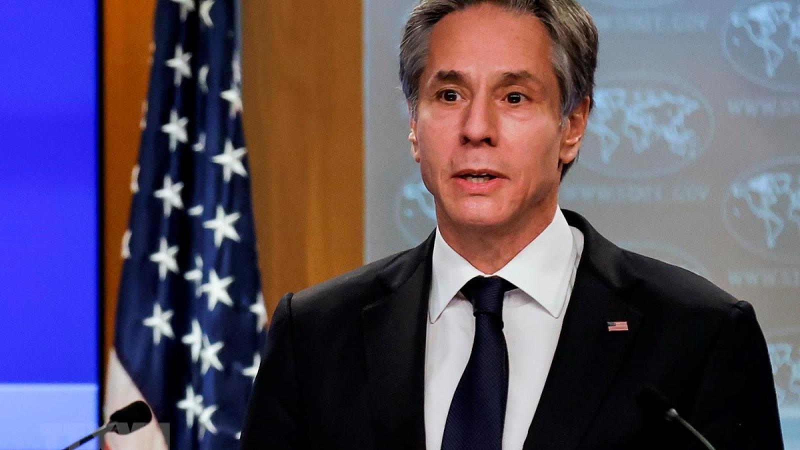 Mỹ tiếp tục ủng hộ giải pháp hai nhà nước cho xung đột Israel-Palestine