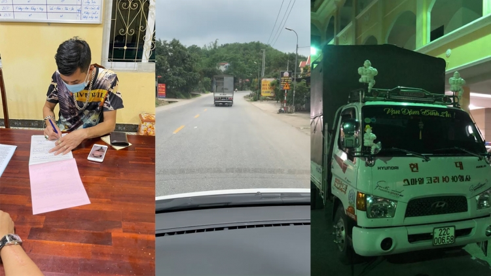 Xử lý xe tải cố tình không nhường đường cho xe cấp cứu