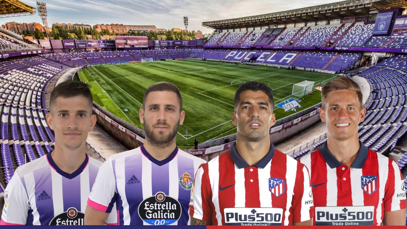 Dự đoán tỷ số, đội hình xuất phát trận Valladolid - Atletico Madrid